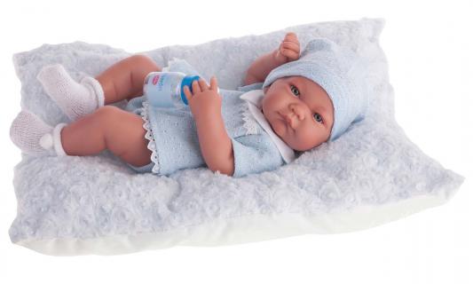 Кукла-младенец Munecas Antonio Juan Нико мальчик в голубом 42 см 5053B