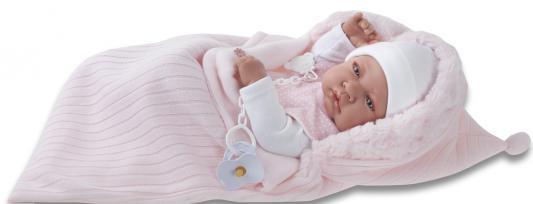 Кукла-младенец Munecas Antonio Juan девочка Сильвия 42 см 5066P