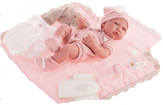 Купить Кукла-младенец Munecas Antonio Juan Кармелита с пеленальным комплектом 42 см 5095P, винил, Куклы Munecas Antonio Juan