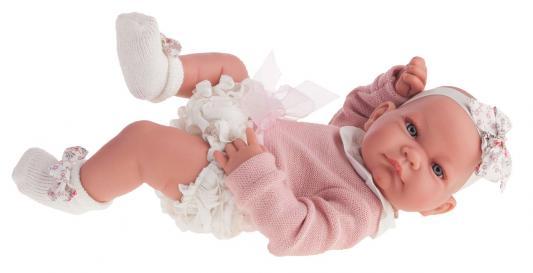 Купить Кукла-младенец Munecas Antonio Juan Эмма 42 см мягкая 5096W, винил, Куклы Munecas Antonio Juan