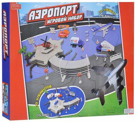 Zhorya игровой набор аэропорт  40*30*55см Х75364