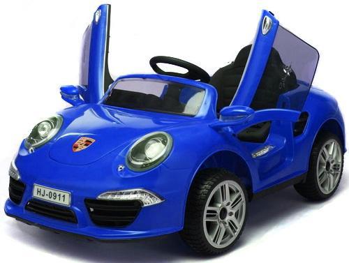 """Электромобиль """"Porsche 911""""; 1TOY Синий Т58723"""