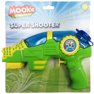 Бластер Mookie Super Shooter зеленый желтый синий А4842