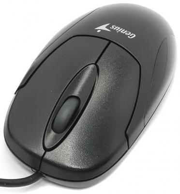 Мышь проводная Genius X-Scroll V3 чёрный USB