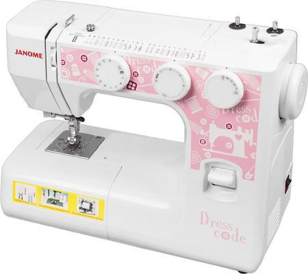 Швейная машина Janome Dresscode белый janome dresscode швейная машина