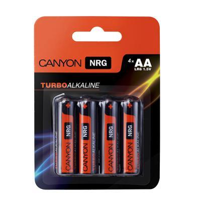 Батарейки Canyon NRG AA 4 шт S6ALKAA4