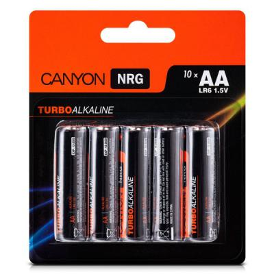 Батарейки Canyon NRG AA 10 шт S6ALKAA10