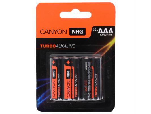 Батарейки Canyon NRG AAA 10 шт S6ALKAAA10