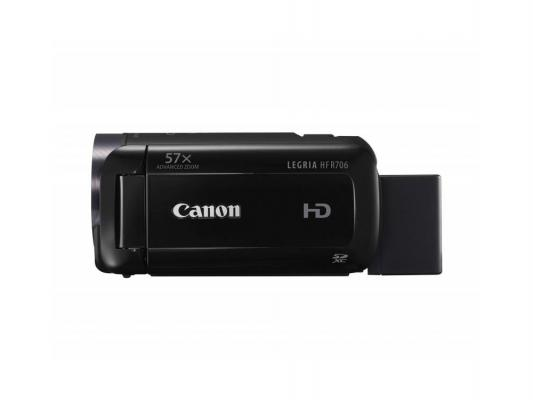 Цифровая видеокамера Canon Legria HF R706 черный