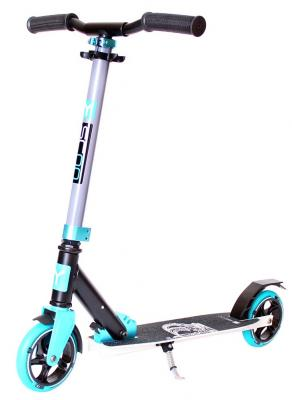 Самокат Y-SCOO CITY Hong Kong Family 145 design Crown aqua 6""