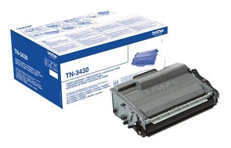 Картридж Brother TN-3430 для HL-L5000/L5100/L6250/L6300/L6400/DCP-L5500/L6600/MFC-L5700/L5750/L6800/L6900 черный 3000стр