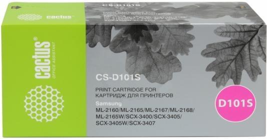 Картридж Cactus CS-D101SD для Samsung ML-2160/2165/2167/2168/2165W/SCX-3400 черный 1500стр 2шт