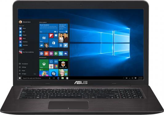 """Ноутбук ASUS X756UA-TY018T 17.3"""" 1920x1080 Intel Core i5-6200U 90NB0A01-M00410"""