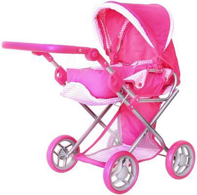 Коляска для кукол RT цвет розовый 9346-1