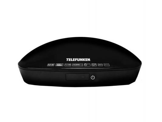 Тюнер цифровой DVB-T2 Telefunken TF-DVBT208 черный