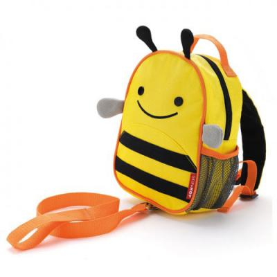 Рюкзак Skip Hop Zoo Let Harness Пчелка (с поводком) разноцветный электронные игрушки skip hop детский музыкальный телефон сова