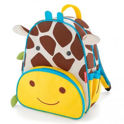Дошкольный рюкзак Skip Hop Жираф 8 л желтый коричневый SH 210216 skip hop рюкзак дошкольный пчела