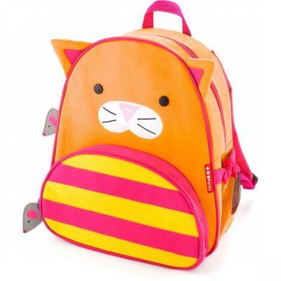Дошкольный рюкзак Skip Hop Кошка 8 л оранжевый SH 210217 skip hop рюкзак детский ёжик sh 210221