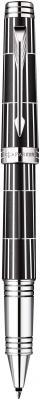 Ручка-роллер Parker Premier Luxury T565 черный F 1876392 ручка роллер parker premier deluxe t562 корпус золотистый s0887950