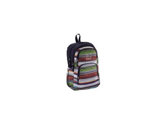 Школьный рюкзак с отделением для ноутбука All Out Kilkenny Waterfall Stripes 23 л фиолетовый черный 129481