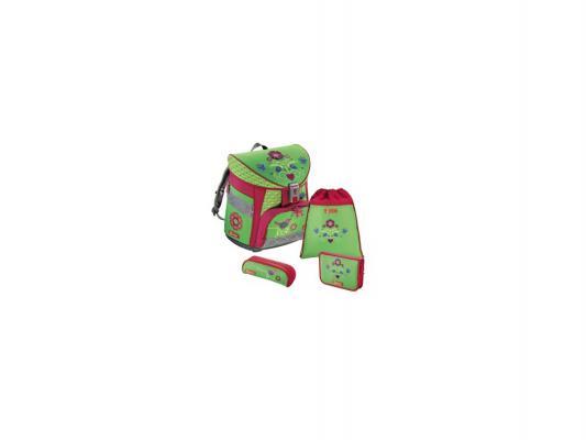 Ранец с наполнением Step by Step Country Flower 18 л зеленый красный 129847