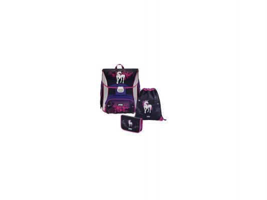 Ранец с наполнением Step by Step BaggyMax Unicorn 3 в 1 20 л черный розовый 138429