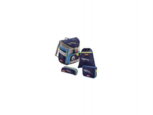 Ранец с наполнением Step by Step Light Space Pirate 18 л синий серый 129854