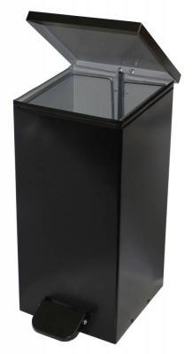 Корзина для бумаг Бюрократ US-12L/BLACK 12л черная