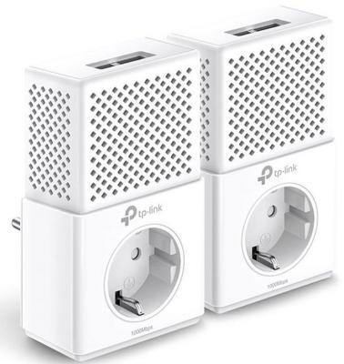 Комплект адаптеров Powerline TP-LINK TL-PA7020PKIT 10/100/1000Mbps