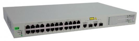 Картинка для Коммутатор Allied Telesis AT-FS750/28-50 неуправляемый 24 порта 10/100Mbps 2xSFP