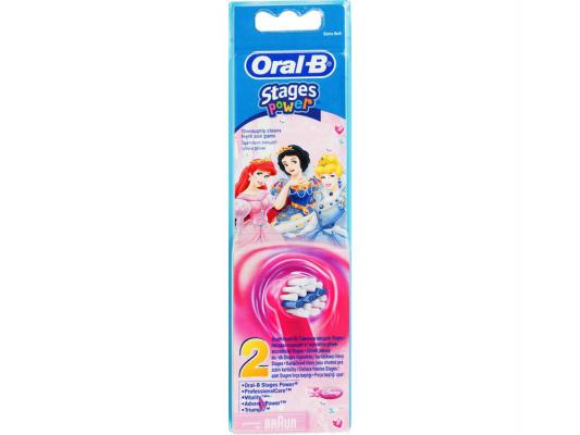 Насадка для зубной щётки Braun Oral-B Frozen Stages Power EB10K 2шт oral b braun eb10k stages kids 2 шт