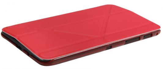 Чехол IT BAGGAGE для планшета SAMSUNG Galaxy Tab A 7 SM-T285/SM-T280 ультратонкий красный ITSSGTA7005-3 it baggage hard case чехол для samsung galaxy tab a 8 0 sm t350n sm t355n black