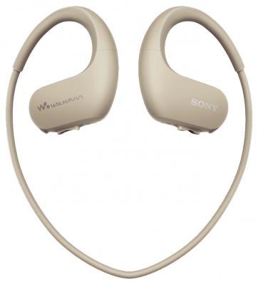 Плеер Sony NW-WS413 4Гб бежевый