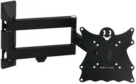 "Кронштейн Kromax CASPER-205 черный LED/LCD 15-40"" 5 ст свободы наклон +5°-15° поворот 180° 57-507 мм от стены max 40 кг"