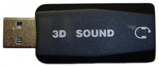 Звуковая карта USB2.0 Orient AU-02 30117