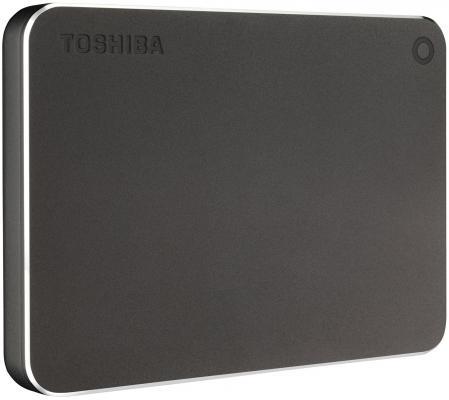 "Внешний жесткий диск 2.5"" USB 3.0 3Tb Toshiba Canvio Premium серый HDTW130EB3CA"