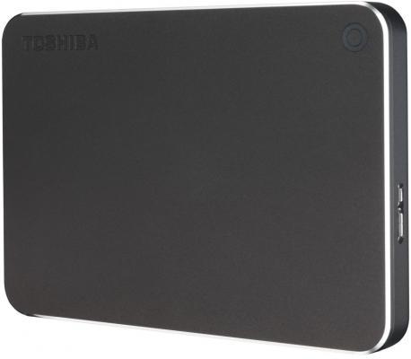 "Внешний жесткий диск 2.5"" USB 3.0 1Tb Toshiba Canvio Premium серый HDTW110EBMAA"