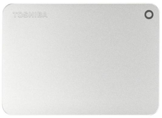 "Внешний жесткий диск 2.5"" USB 3.0 1Tb Toshiba Canvio Premium серебристый HDTW110ECMAA"