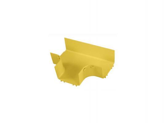 """Основание Т-образного соединителя Panduit FRT6X4YL для лотков FiberRunner 6x4"""" желтый"""