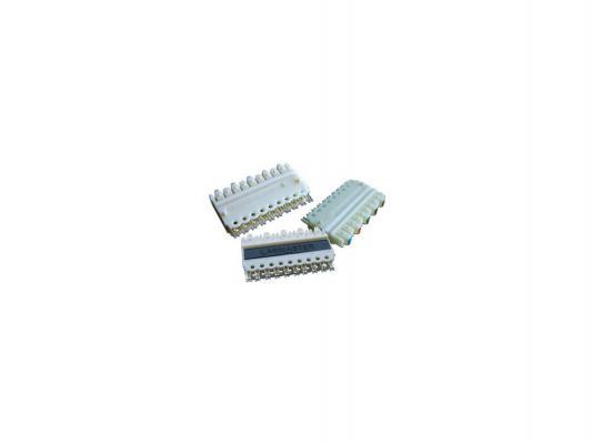 Блок Lanmaster соединительный 5-парный 110 типа для кросса LAN-S110C-5