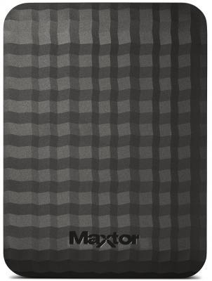 Внешний жесткий диск 2.5 USB3.0 500Gb MAXTOR STSHX-M500TCB/GM/R