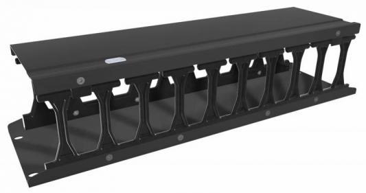 """Горизонтальный кабельный органайзер Conteg HDWM-HM-3FRB 3U 19"""" 112мм"""