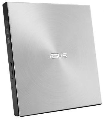 Внешний привод Blu-Ray ASUS SDRW-08U7M-USILVER USB2.0 Retail серебристый