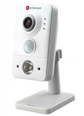 Камера IP ActiveCam AC-D7141IR1 CMOS 1/3'' 2592 х 1520 H.264 RJ-45 LAN PoE белый activecam ac d7141ir1