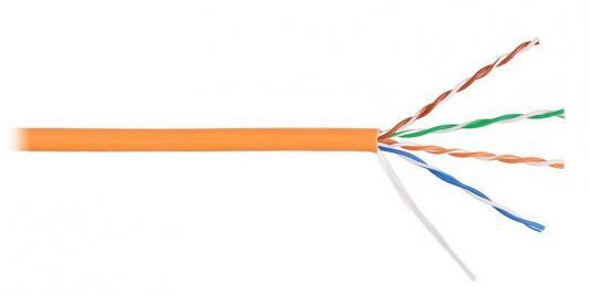 Кабель Lanmaster UTP кат.5е 305м оранжевый LAN-5EUTP-OR цена и фото