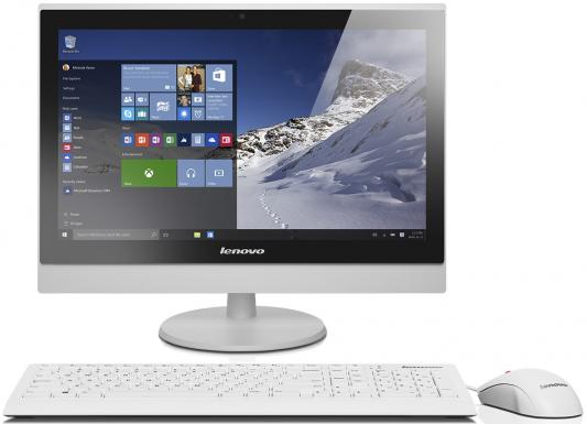 "Моноблок 22"" Lenovo S400z 1920 x 1080 Intel Core i3-6100U 4Gb 500Gb Intel HD Graphics 520 Windows 10 белый 10K2001WRU"