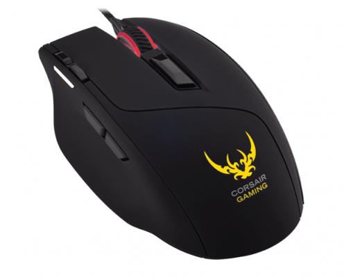 Мышь проводная Corsair Gaming Sabre RGB чёрный USB CH-9303011-EU