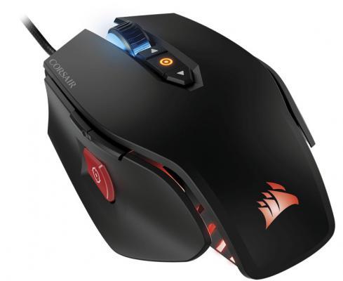 Мышь проводная Corsair M65 RGB FPS чёрный USB CH-9300011-EU