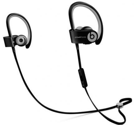 Наушники Apple Beats Powerbeats 2 WL In-Ear черный MKPP2ZE/A