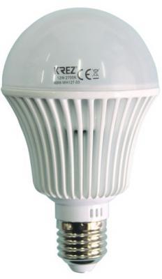 Лампа светодиодная колба KREZ E27 12W 2700K 4BM-WH127-03